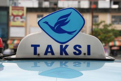 タクシー看板
